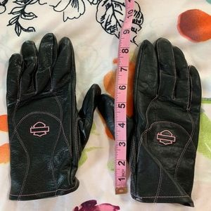 Harley-Davidson Leather riding gloves